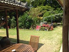 お庭の雰囲気